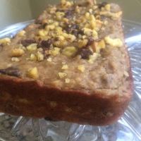 Healthy & DELICIOUS Dark Chocolate chip Banana Bread (GLUTEN FREE!)