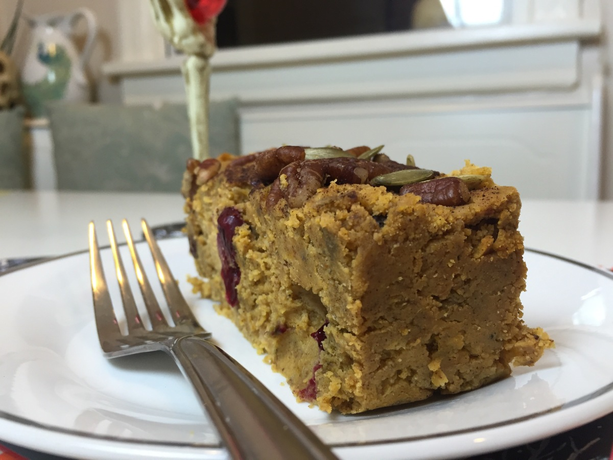 Healthy & Gluten Free Pumpkin Bread!